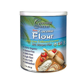 Coconut Secrets Raw Coconut Flour (454g) contains no ingredients made from the milk of any animal, whether cow, goat or sheep.  We do not consider eggs as dairy products