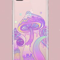 Magic Mushroom  - Clear Case Cover
