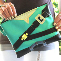 Legendary Clutch Bag With Wristlet | Link Legend Of Zelda Inspired | Purse | Geek Chic