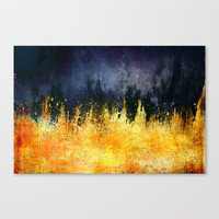 My burning desire Canvas Print by HappyMelvin