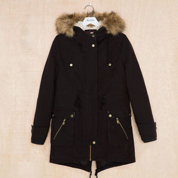Bershka Spain - BSK hooded parka