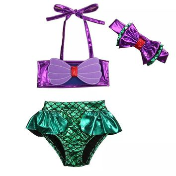 PRE-ORDER - BATHING SUITS - GIRLS MERMAID - 7 STYLES - CLOSES 03/16