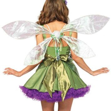 Iridescent Pixie Wings In White
