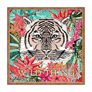 Monika Strigel Wildest Thing Square Tray