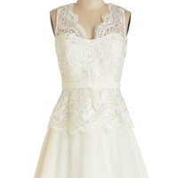 ModCloth Mid-length Sleeveless A-line A Perfect Matrimony Dress