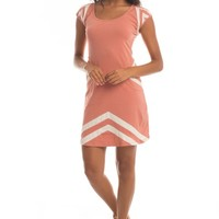 Indio Pocket Dress in Desert Sand/Ivory