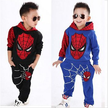 2 Pc Spiderman Tracksuit for Kids