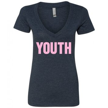 """Shawn Mendes """"YOUTH"""" V-Neck T-Shirt"""