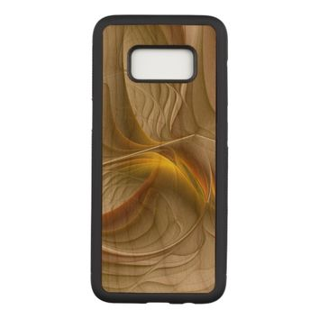 Colors of Precious Metals, Abstract Fractal Art Carved Samsung Galaxy S8 Case
