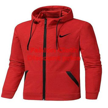 Nike Sweater Men 2018 Spring Clothes L-5XL ST 8825 Red