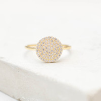Disc Ring - Gold
