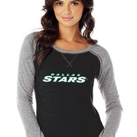 Dallas Stars Womens Long Sleeve T-Shirt