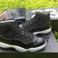 "Air Jordan 11 ""Space Jam"" AJ11 Sport Basketball Shoes"