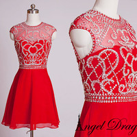 Custom Made Evening Dress, short evening dress, evening gown, dress party evening elegant, evening dresses,evening gown,formal evening gowns