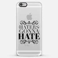 Haters gonna hate iPhone 6 Plus case by WAMDESIGN | Casetify