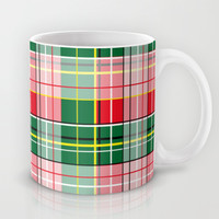 Scottish pattern Mug by Lescapricesdefilles