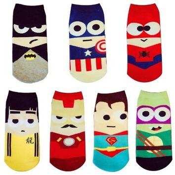 Men's Superhero Socks