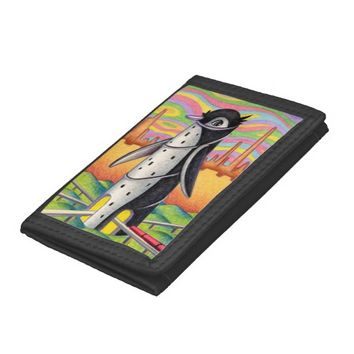 Penguin Station Tri-fold Wallets
