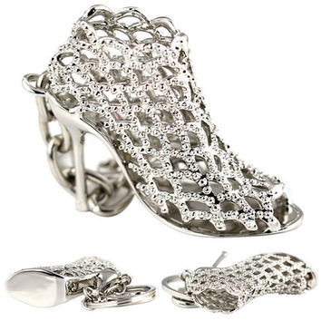 Beautiful High Heel ShoeKey Fob/ Purse Charm