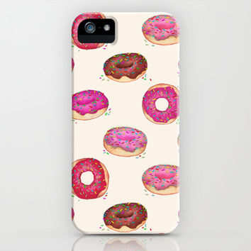 Homemade Doughnuts  iPhone & iPod Case by Perrin Le Feuvre