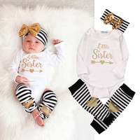 Baby Girls Long Sleeve Bodysuit