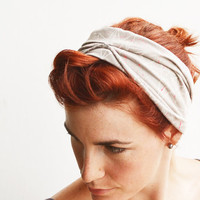 Stars and Splatter Headband -Hand printed Organic Stretch Cotton, Plant dyed with Logwood