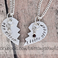 Sister Necklace  Best Friends Sister  Big Sister by brittanybach