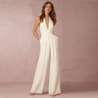 Sleeveless Autumn Casual Sexy Jumpsuit [10972828047]