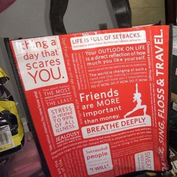 CREYON LULULEMON Shopping Bag