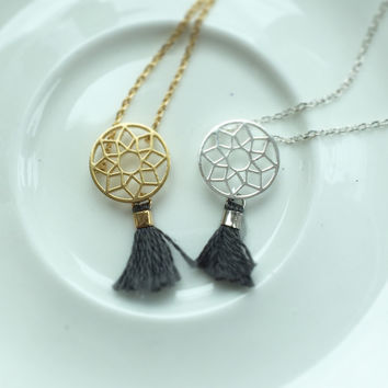 Dreamcatcher Tassel Necklace