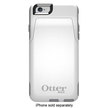 OtterBox - Commuter Series Wallet Case for Apple® iPhone® 6 - Glacier