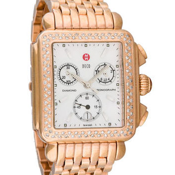 Michele Deco Diamond Watch