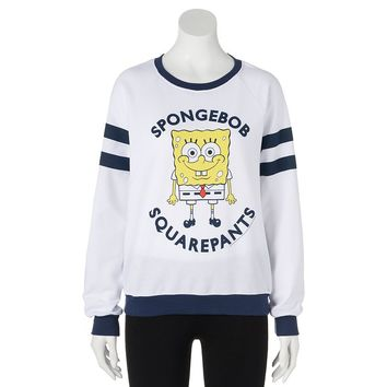 Mighty Fine SpongeBob SquarePants Sweatshirt - Juniors, Size:
