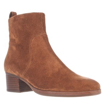 Via Spiga Ottavia Ankle Boots, Luggage, 6.5 US / 36.5 EU