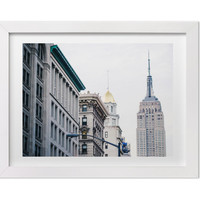 New York Photography, Empire State Building from Madison Square Park, NYC Architecture Print, NYC Art, New York City Print, Large Wall Art