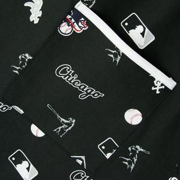 Chicago White Sox All Over Print Scrub Top