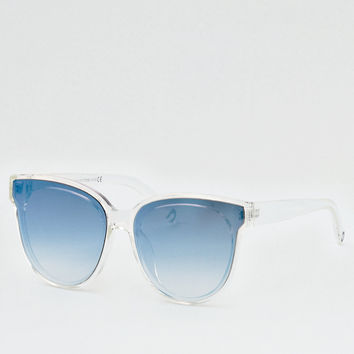 Blue Flash Sunglasses, Blue