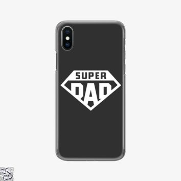 Superdad, Father's Day Phone Case