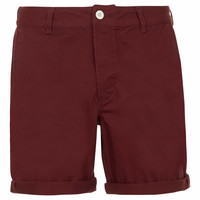Burgundy Chino Shorts - Men's Shorts - Clothing - TOPMAN USA
