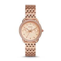 Tailor Multifunction Stainless Steel Watch, Rose Gold