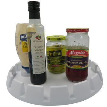 Evelots Turntable/Lazy Susan Tray-Kitchen/Bathroom/Office-Centerpiece-13 Inches
