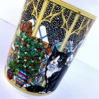 Christmas Cats Mug by Dunoon