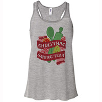 Christmas Baking Team Tank Top Racerback