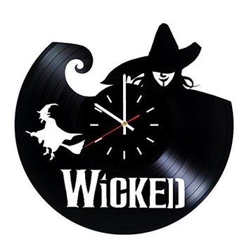 Wicked Broadway Vinyl Record Wall Clock