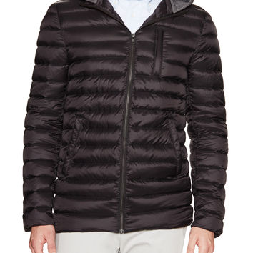 Soia & Kyo Men's Benjamin Hooded Puffer Jacket - Black - Size XL