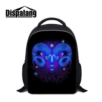 Girls bookbag Dispalang creative design virgo small bookbag for girls kindergarten kids star signs school bags nursery baby day pack mochila AT_52_3