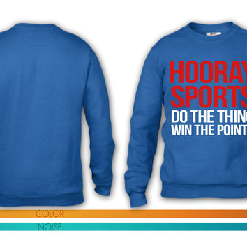 Hooray Sports! crewneck sweatshirt