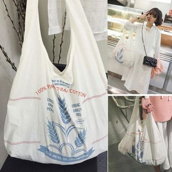 ca DCCKTM4 Stylish Back To School Casual College Hot Deal On Sale Comfort Korean Pattern Tote Bag Bags Cotton Backpack [8269848071]