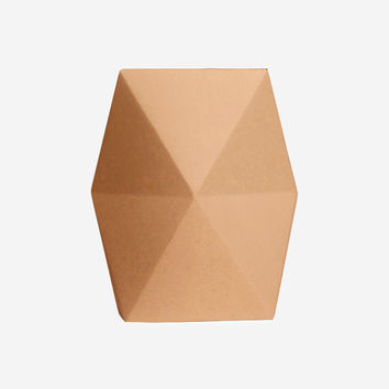 Snug.Vase Low – Copper