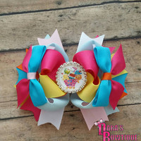 Shopkins Hair Bow